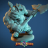 Dwarven Barbarian Miniature image