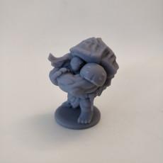 Picture of print of Teenage Mutant Ninja Tortle - Rappyfel Miniature