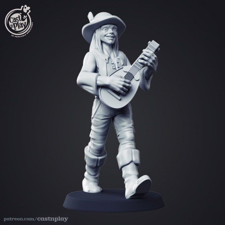 Human Bard - Kickstarter Add-on's Cover