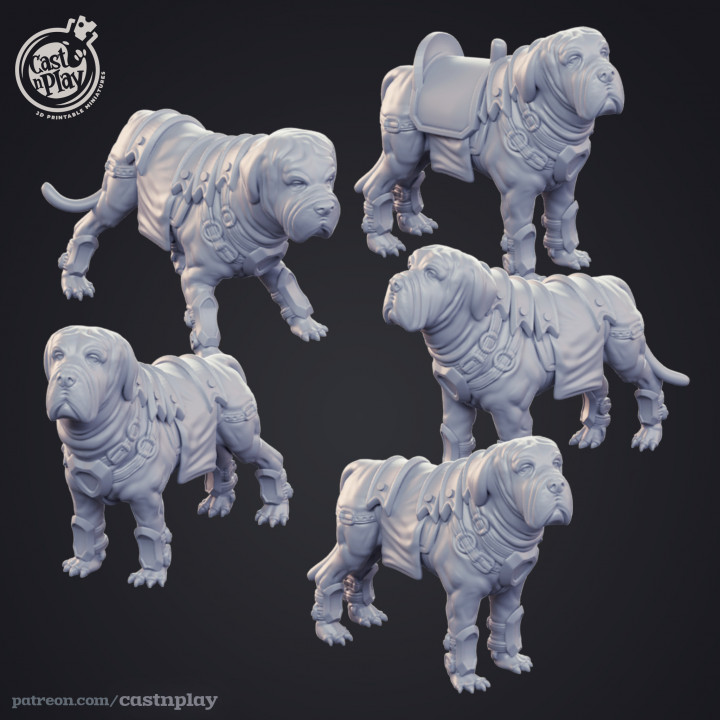 Bandit Mastiffs - Kickstarter Add-on's Cover