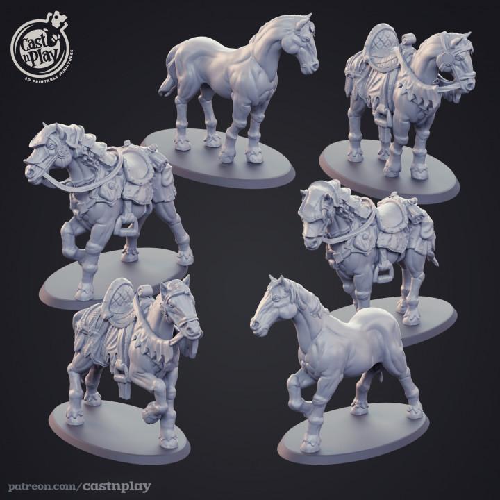 Horses - Kickstarter Add-on's Cover