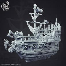 Undead Pirate Ship - Kickstarter Add-on