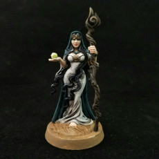 Picture of print of Miriel - Druid- 32mm - DnD -
