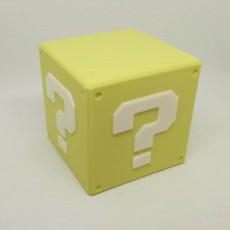 Question Box Lamp - Super Mario