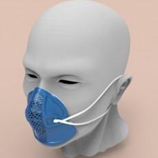 Reusable Facial Mask Respirator Frame Cover