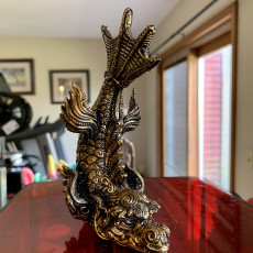 Picture of print of dragon fish