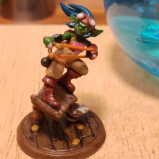 Picture of print of Knox the Goblin Alchemist