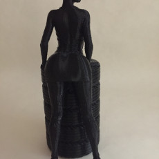 Picture of print of Pretty girl Pen/Pencil Holder