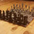 Tall classic chess pieces image
