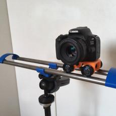 Slider for cameras
