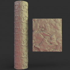Texture rolling pin No14