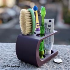 Bathroom Arranger (Toothbrush Holder, Version3)