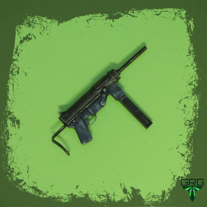 M3A1 Sub Machinegun - scale 1/4