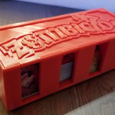 Zombie Card Box & 3 Lids
