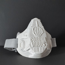 F..k Corona mask and bust