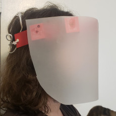 Quick & Dirty Cardstock Face Shield