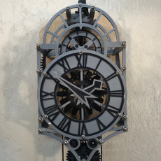 Christian Huygens 3D printed clock