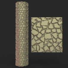 Texture rolling pin No31