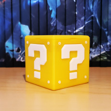 Picture of print of Nintendo Switch Question Block XL