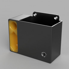 Xiaomi mi scooter (M365) charger wall mount with chable managment