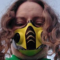 Picture of print of COVID Sub Zero Mask