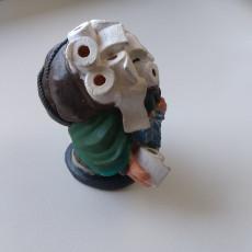 Picture of print of Toilet Paper Merchant Miniature