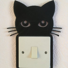 Cat Light Switch Frame