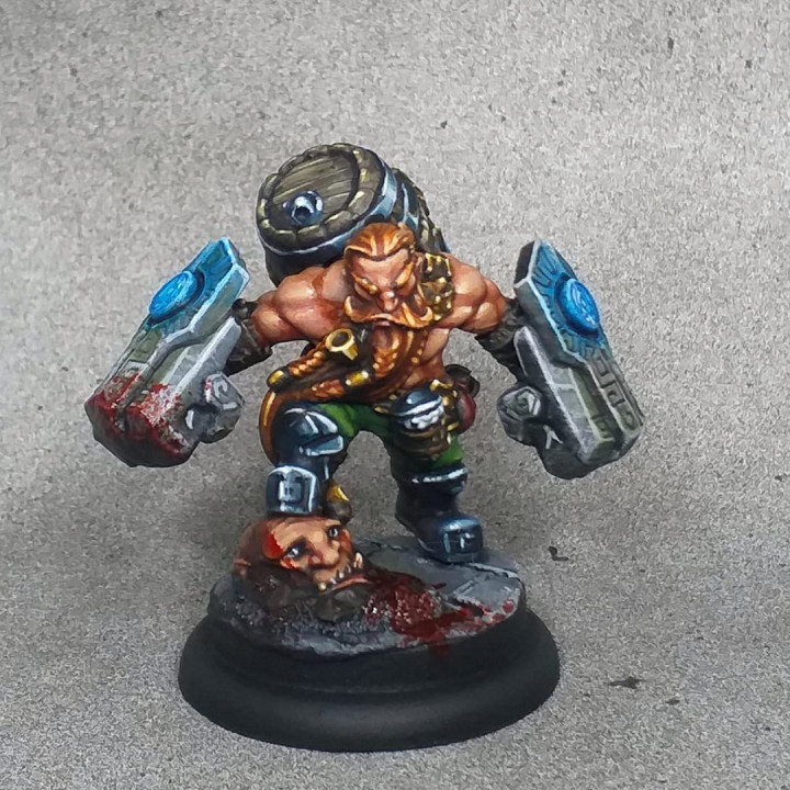 Gino the Brewmaster - Dwarven Oathbreakers Hero
