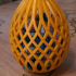 Easter egg gift and decoration image