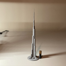 Picture of print of Burj Khalifa - Dubai, UAE