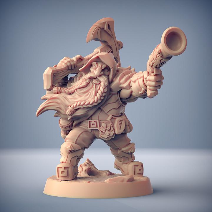 Dwarven Oathbreakers - A Modular (Male)