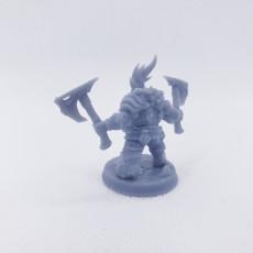 Picture of print of Dwarven Oathbreakers - C Modular (Male)