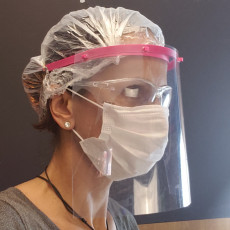Projeto Higia 4 - Protetor Facial - COVID 19