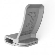 COVID parametric door handle - rectangular horizontal type
