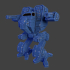 5 mechs for resin printing image