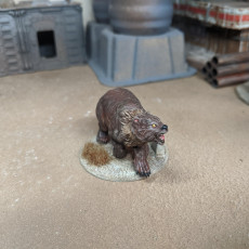Picture of print of Bear - 32mm scale miniature