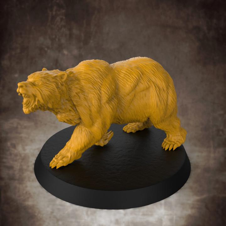 Bear - 32mm scale miniature