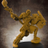 Male Druid RPG Character - 32mm scale miniature image