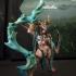 Raktaa the Blood Priestess & Sacrifical Pit (AMAZONS! Kickstarter) image