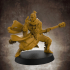 Male RPG Monk - Human, Elf, Half Orc, Tiefling - 32mm miniature image