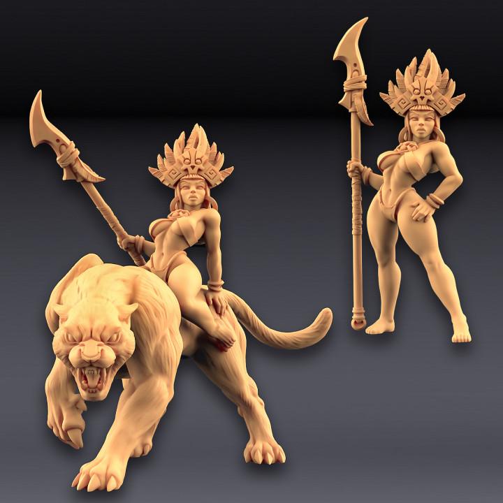 Kaata, Princess on Panther (AMAZONS! Kickstarter)