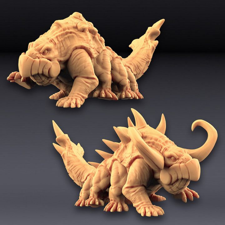 Giant Salamanders - 2 units  (AMAZONS! Kickstarter)