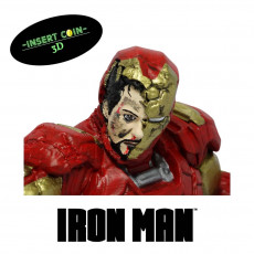 Picture of print of ironman bust