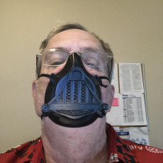 Picture of print of COVID-19 MASK Darth Vader Star wars