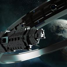 Pillar of Autumn   Halcyon-class light cruiser