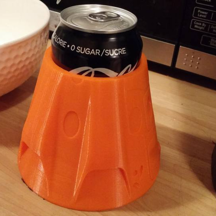 SpaceX Crew Dragon Themed Pop/Soda Holder