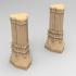 3D printable pillar for dwarf mine image
