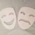 Theater Comedy Tragedy Masks image