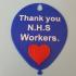 NHS thank you balloon image