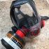 Respirator adapter 40mm thread to popular fitment image